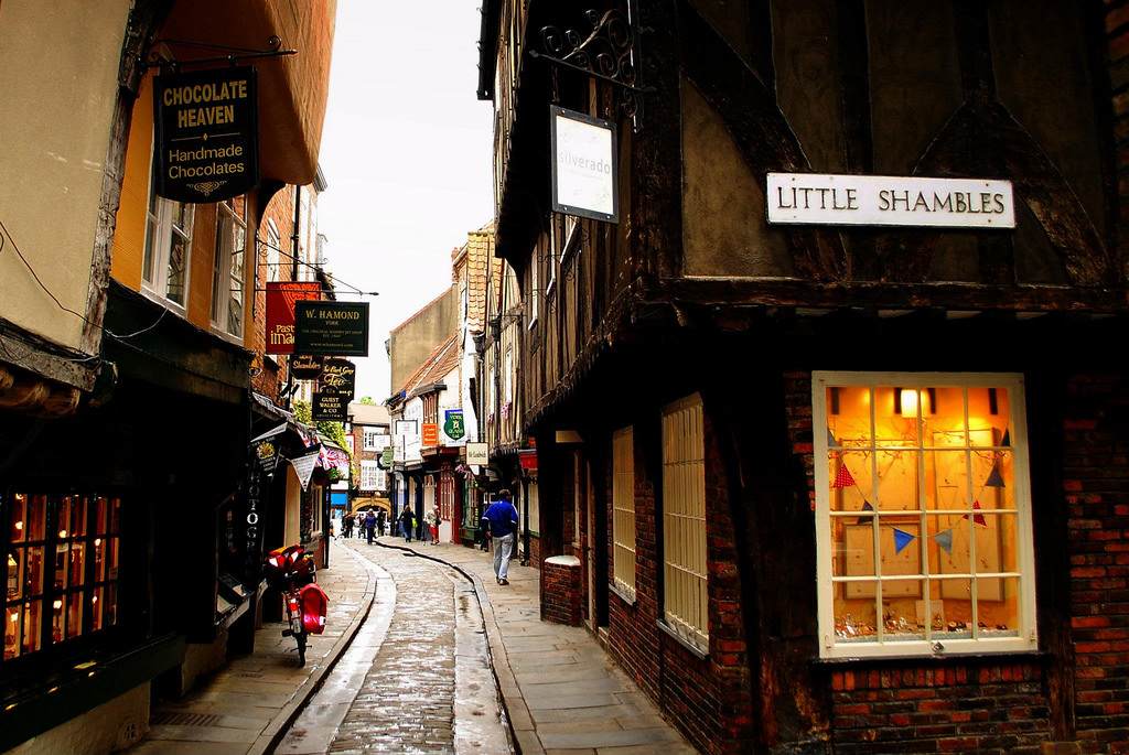 The Shambles History Hustle medieval