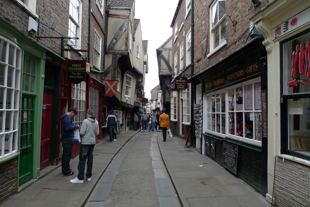 Medieval The Shambles History Hustle