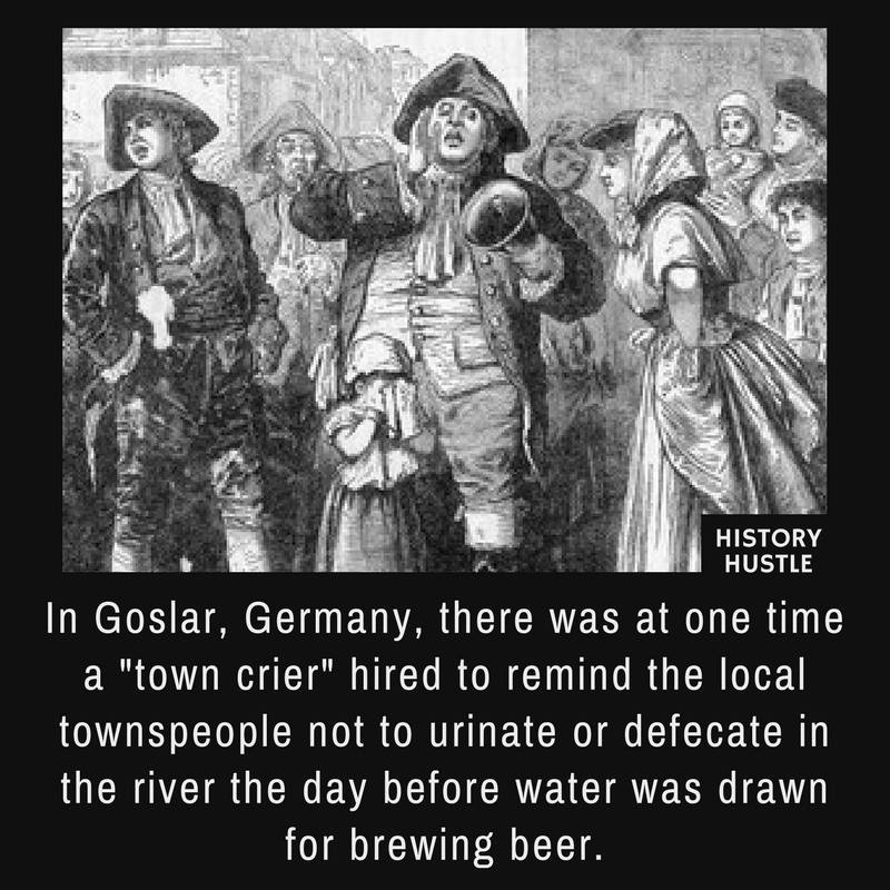 Medieval town crier History hutle fact photo