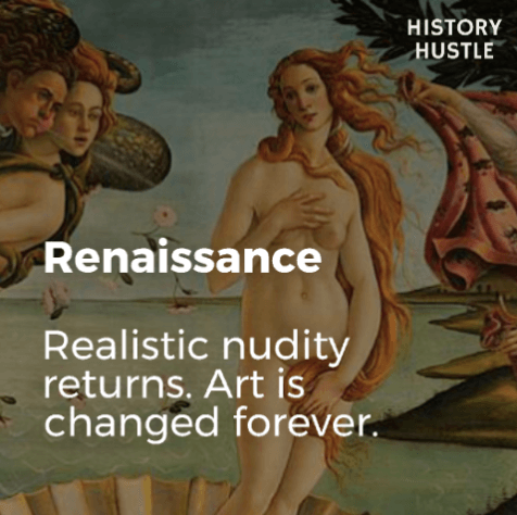 Art History in 90 Seconds History Hustle Renaissance image