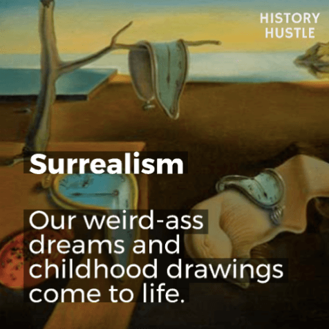 Art History in 90 Seconds History Hustle Surrealism image