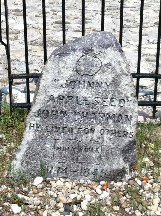 Johnny Appleseed's Grave History Hustle Stephanie Weber image