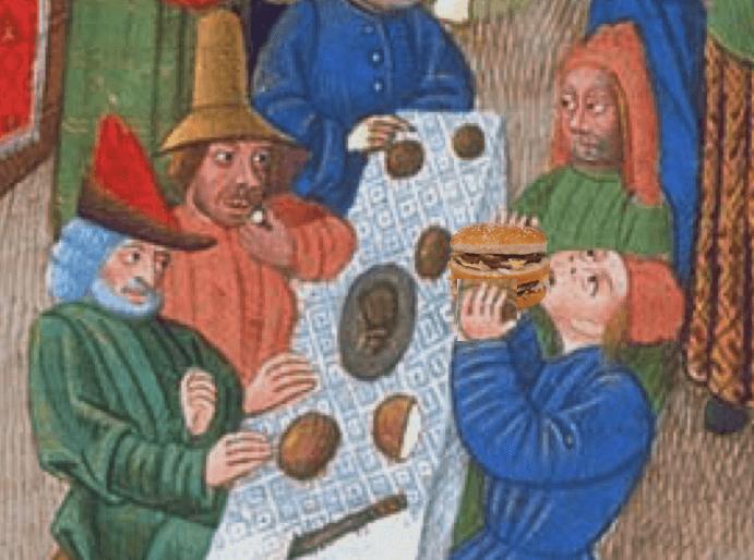 medieval big mac history hustle