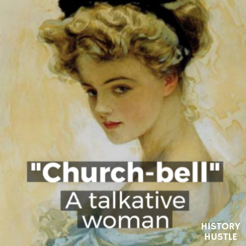 History Hustle Victorian Slang Church Bell image