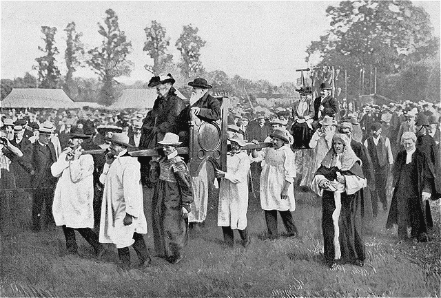 Flitch of bacon History Hustle 1905