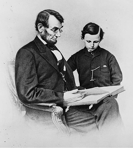 Lincoln reading history hustle image