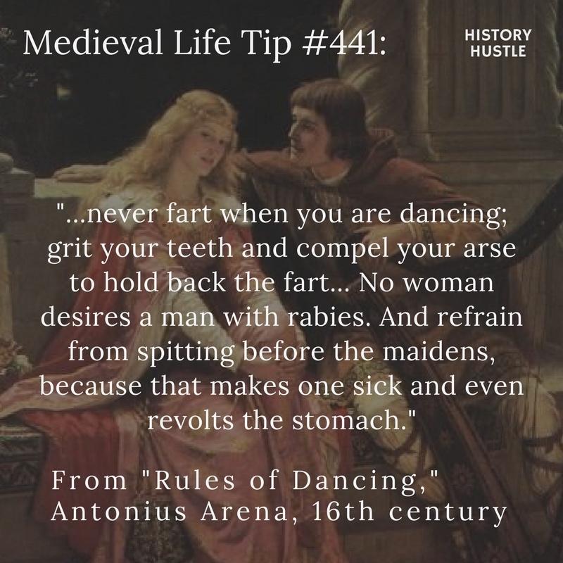 History Hustle Medieval life tip 441 image