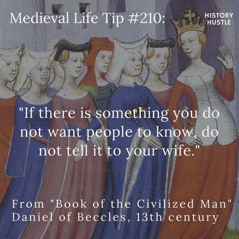 History Hustle Medieval tip 210 image
