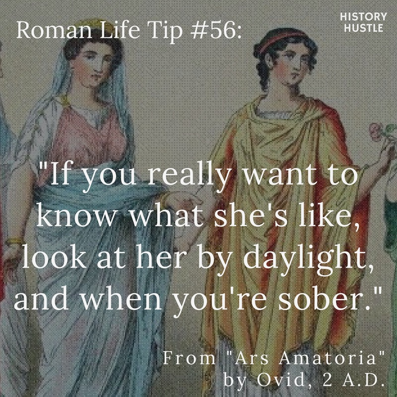 History Hustle Roman life tip image