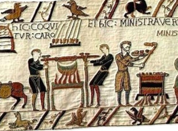 History Hustle Bayeux Tapestry British image