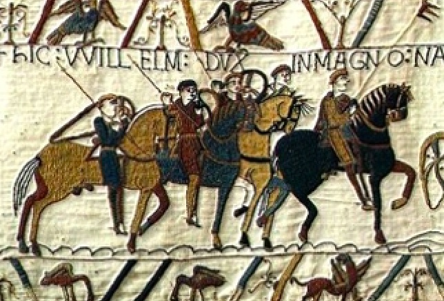 History Hustle Bayeux Tapestry England image