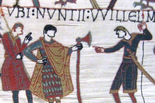 History Hustle Bayeux Tapestry Norman Invasion image