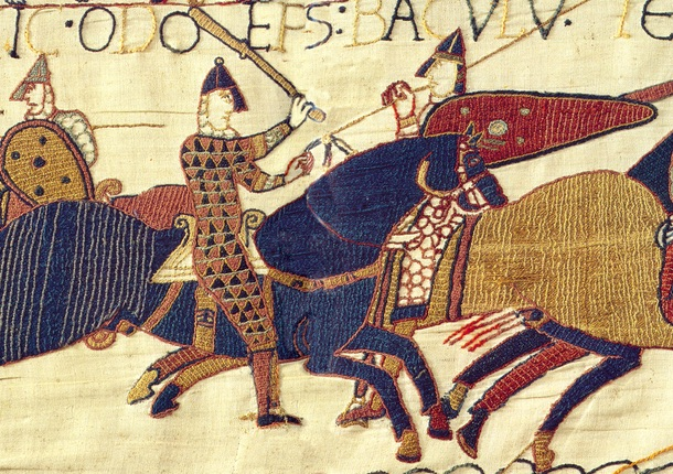 History Hustle Bayeux Tapestry Norman image