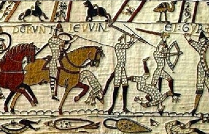 History Hustle Bayeux Tapestry William the Conqueror image