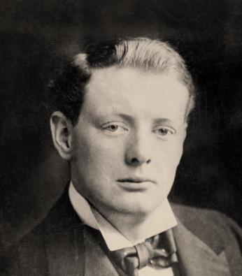 Winston Churchill boy History Hustle image