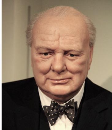 Winston Churchill older History Hustle image