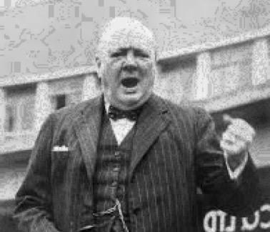 Winston Churchill speech History Hustle image