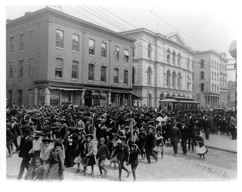 Emancipation Day in Richmond, Virginia 1905