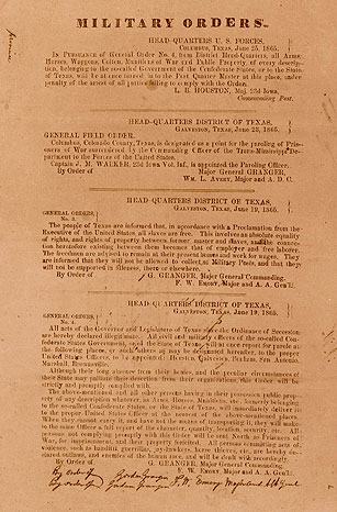 Juneteenth general order 3