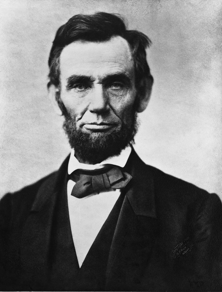 President Abraham Lincoln portrait