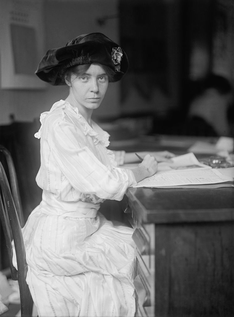 Alice Paul, one of the well-known suffragists of her time