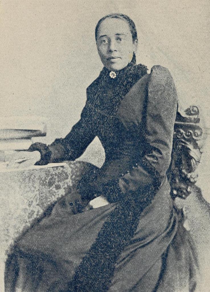 portrait of Anna Julia Cooper 1892, radical feminists