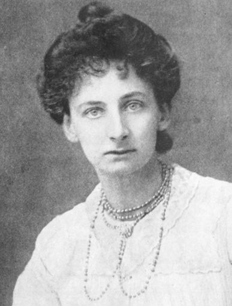 portrait of Constance Lytton