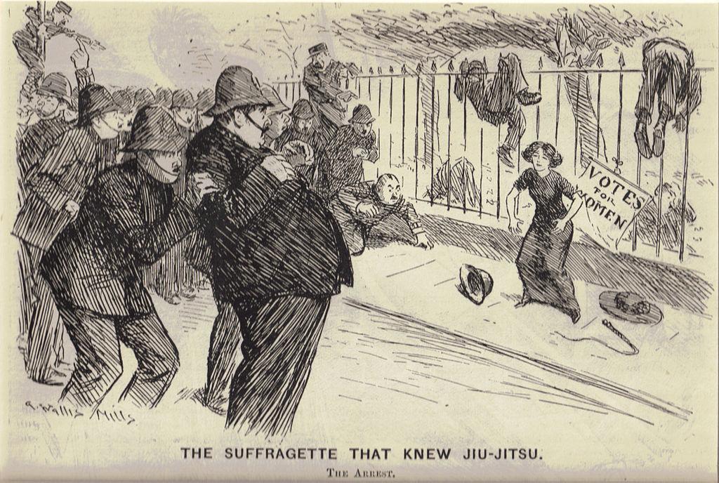 Edith Margaret Garrud, The Suffragette That Knew Jiujitsu