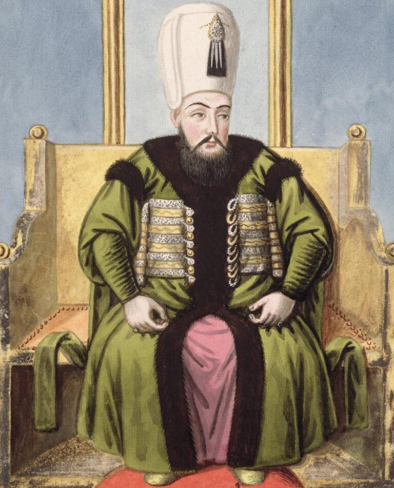 portrait of Handan Sultan's son, Ahmed I