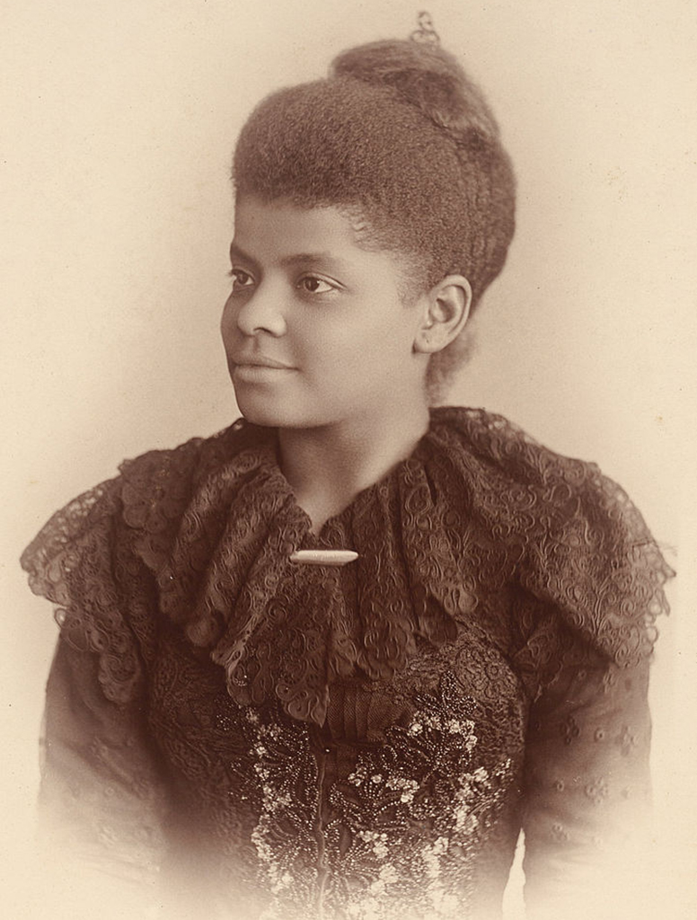 portrait of Ida B. Wells, one of the famous suffragists of her time