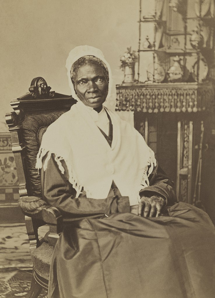 portrait of Sojourner Truth, 1870, one of the famous radical feminists of her time