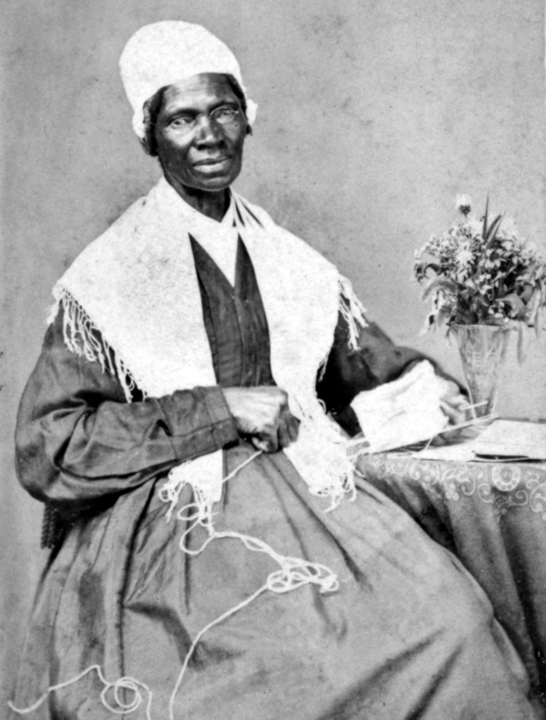 portrait of Sojourner Truth, one of the famous suffragists of her time