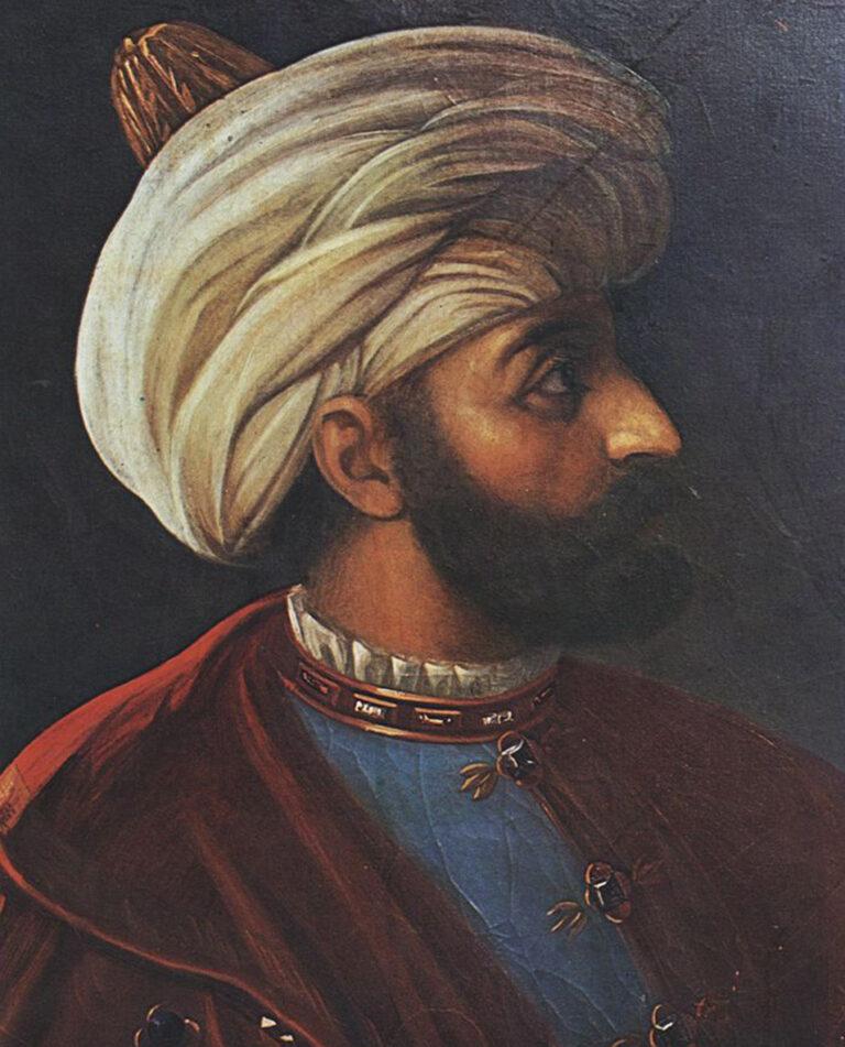 portrait of Sultan Murad III, husband of Safiye Sultan