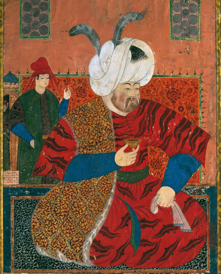 portrait of Sultan Selim II, husband of Nurbanu Sultan