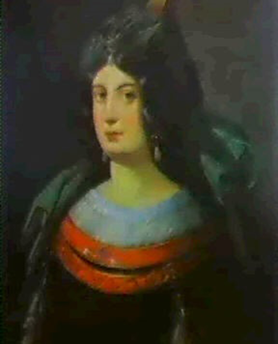 portrait of Turhan Hatice Sultan, one of the powerful women of the ottoman empire