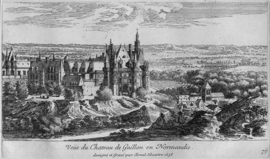 Château de Gaillon is the first estate with a well-known hermitage with a garden hermit