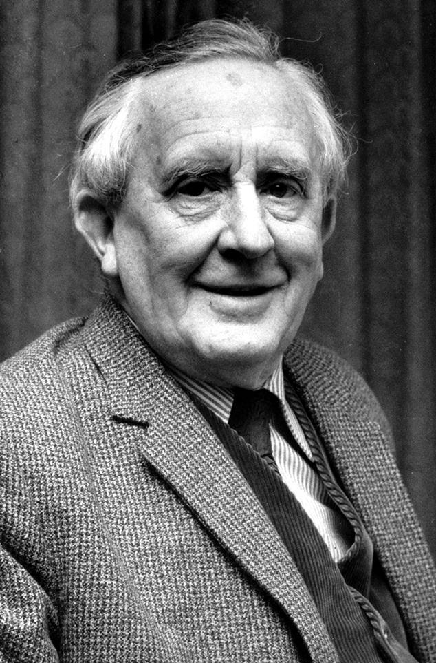 J.R.R. Tolkien's protrait, 1970