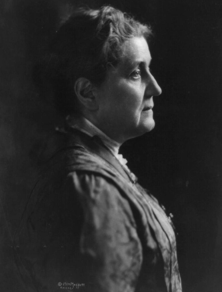 Jane Addams' portrait