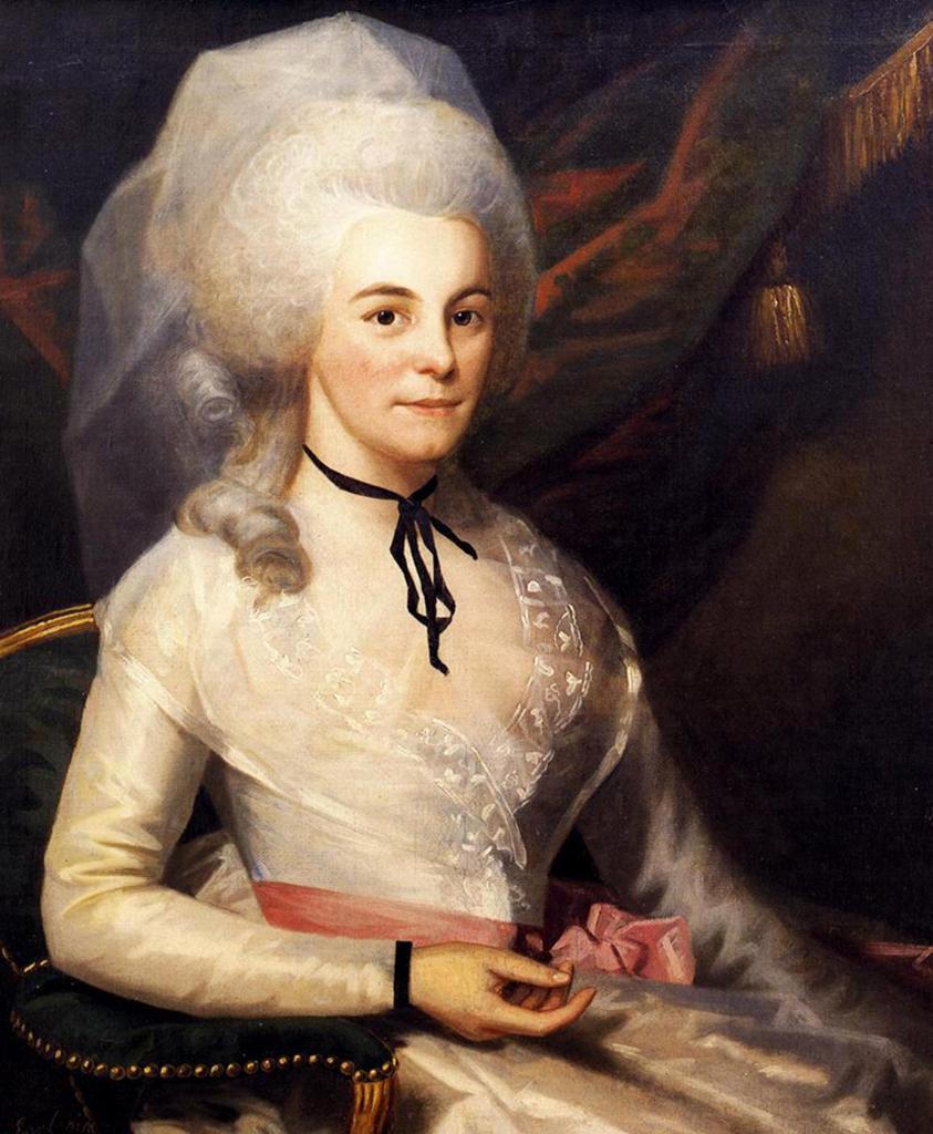 Elizabeth Schuyler's portrait