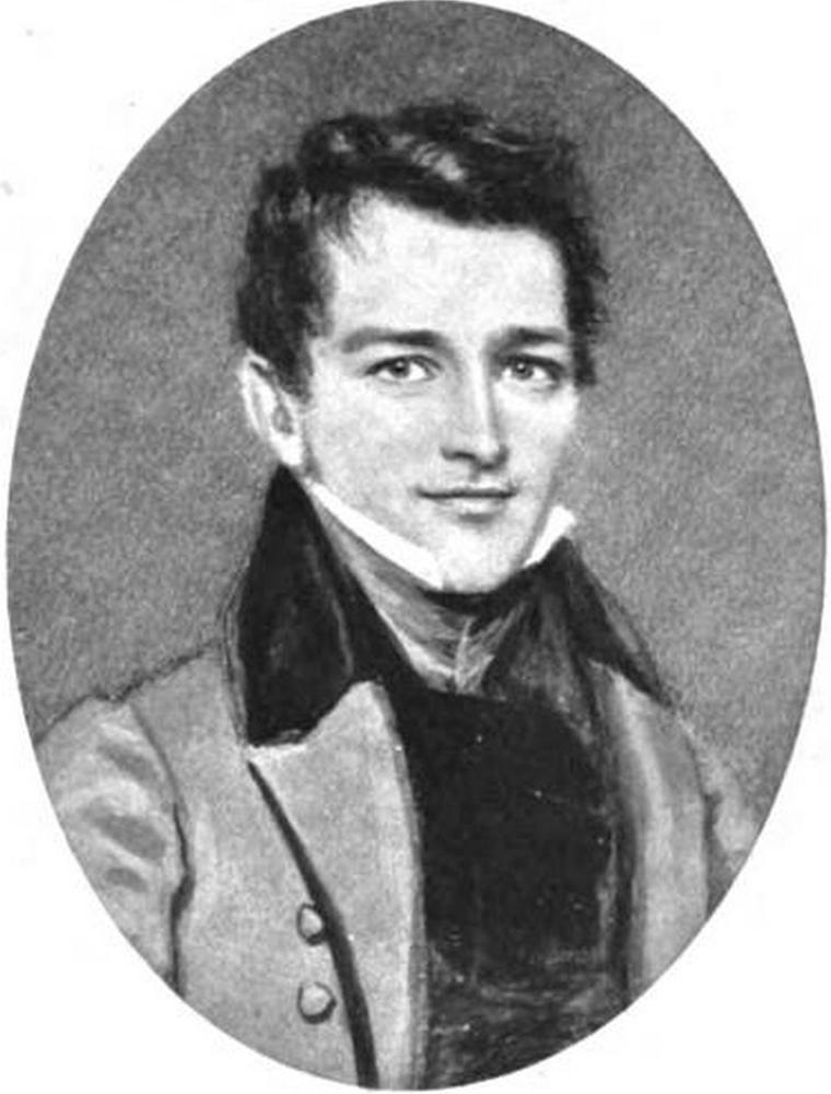 portrait of his son