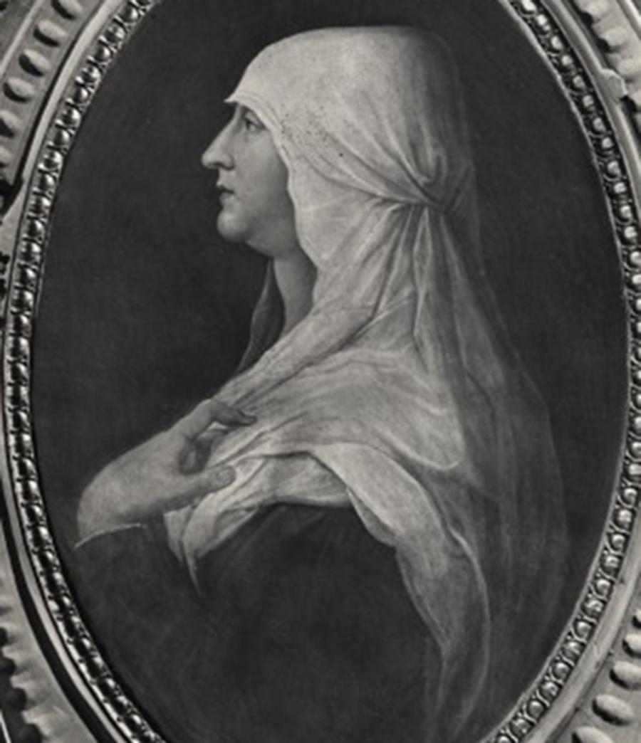 portrait of Caterina Sforza