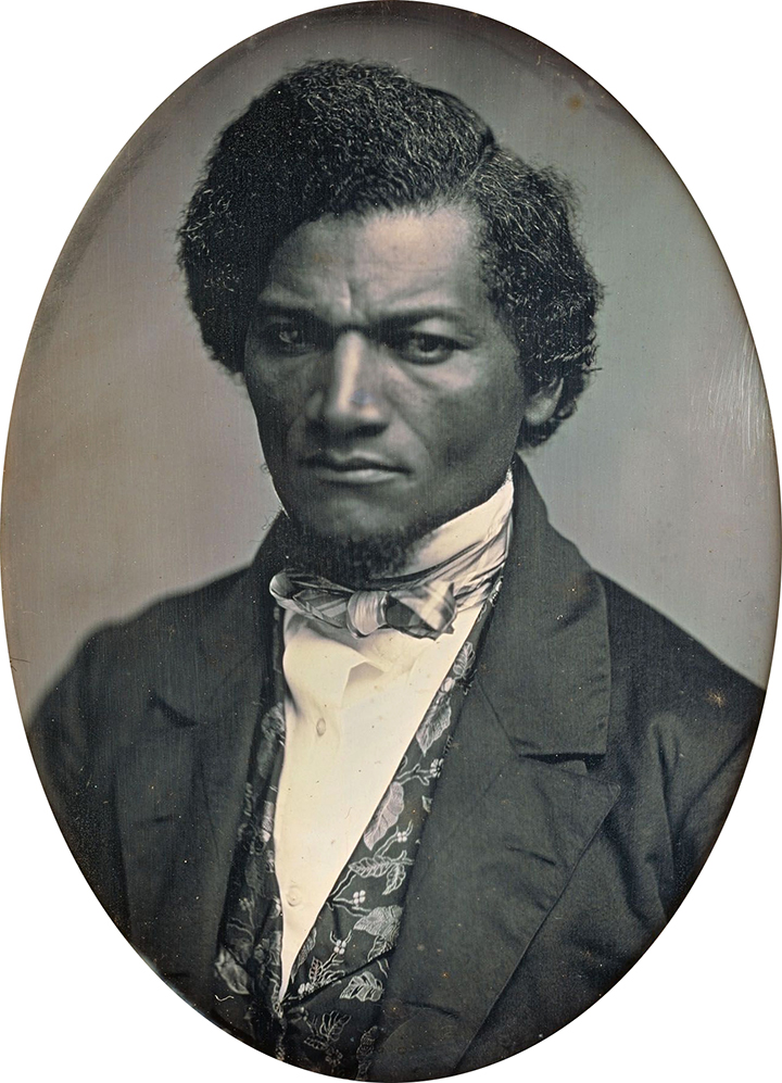 portrait of Frederick Douglass 1847-52