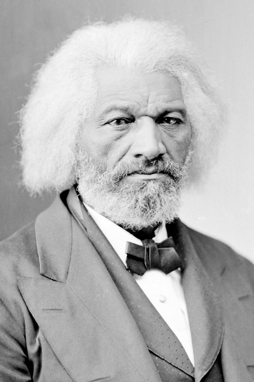 portrait of Frederick Douglass 1865-80