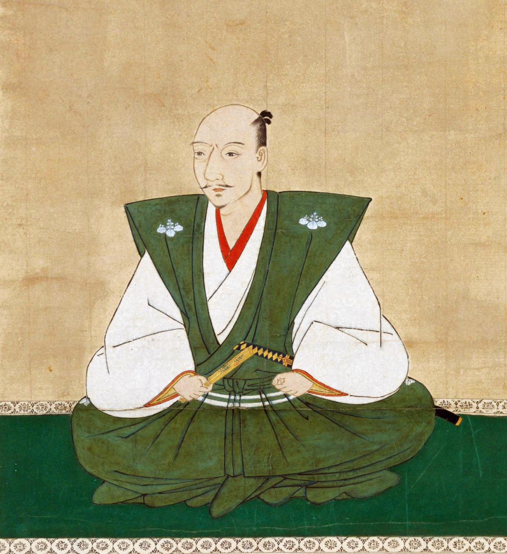 portrait of Lord Oda Nobunaga, whom had a unique and faithful bond with Yasuke