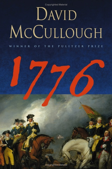 "book cover of the book ""1776"""