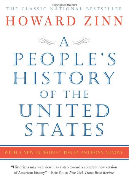 "cover of the book ""A People's History of the United States"""