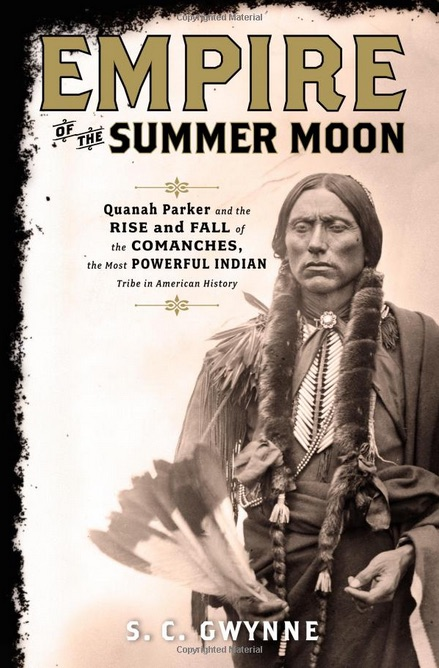 "book cover of the book ""Empire of the Summer Moon"""