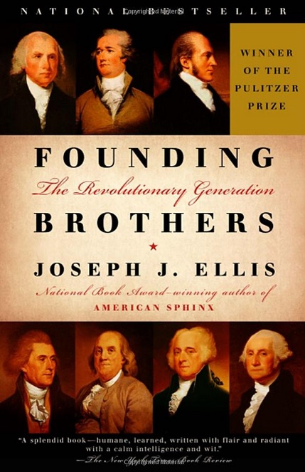 "book cover of an American History book ""Founding Brothers: The Revolutionary Generation"""