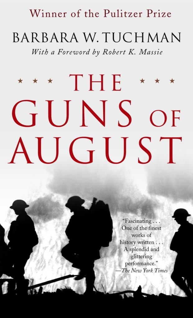 "cover of the book ""The Guns of August"""
