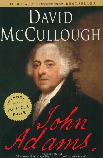 "cover of the book ""John Adams"""